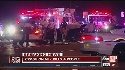 Florida Highway Patrol investgating deadly multi-car crash in Tampa that killed four people