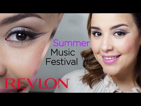 Summer Festival Makeup with Soft Pastels feat. MakeupbyAmarie | Revlon