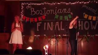 Rebecca Nelson Final Show Speeches - The Bostonians of Boston College