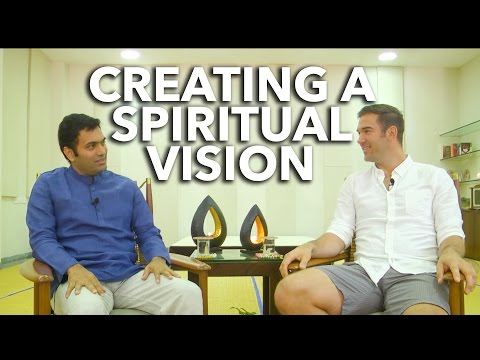 Krishnaji on The Power of Creating a Spiritual Vision with Lewis Howes