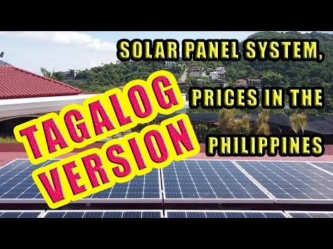 TAGALOG Solar Prices In The Philippines.