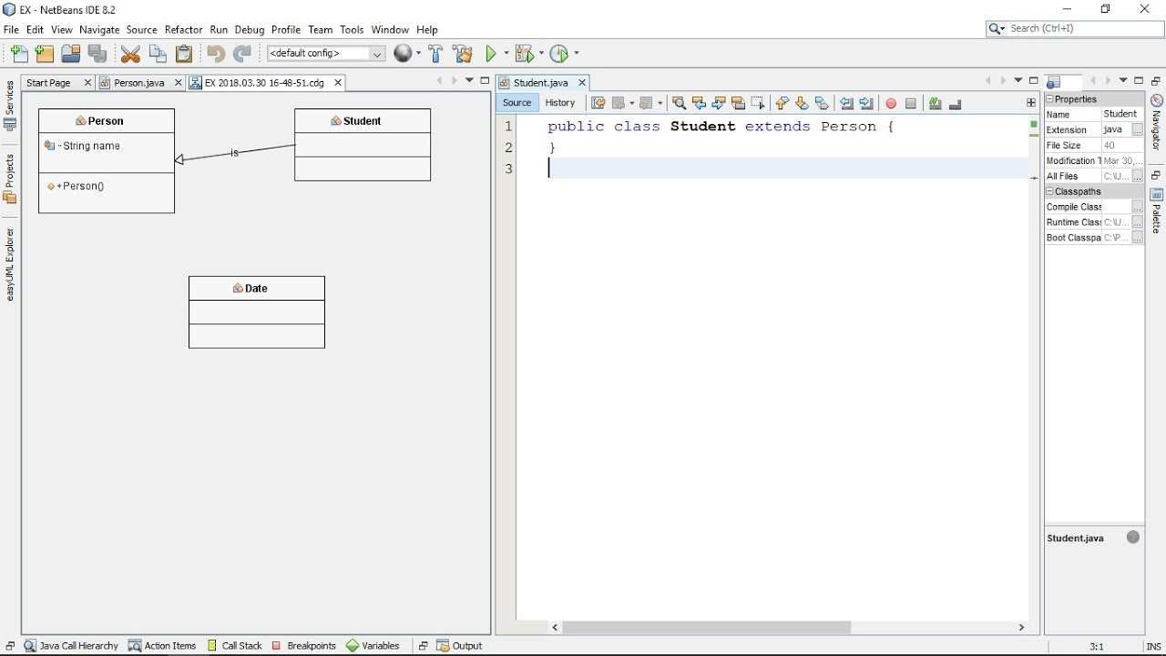 How To Generate Uml Class Diagram From Java Code In Netbeans Using