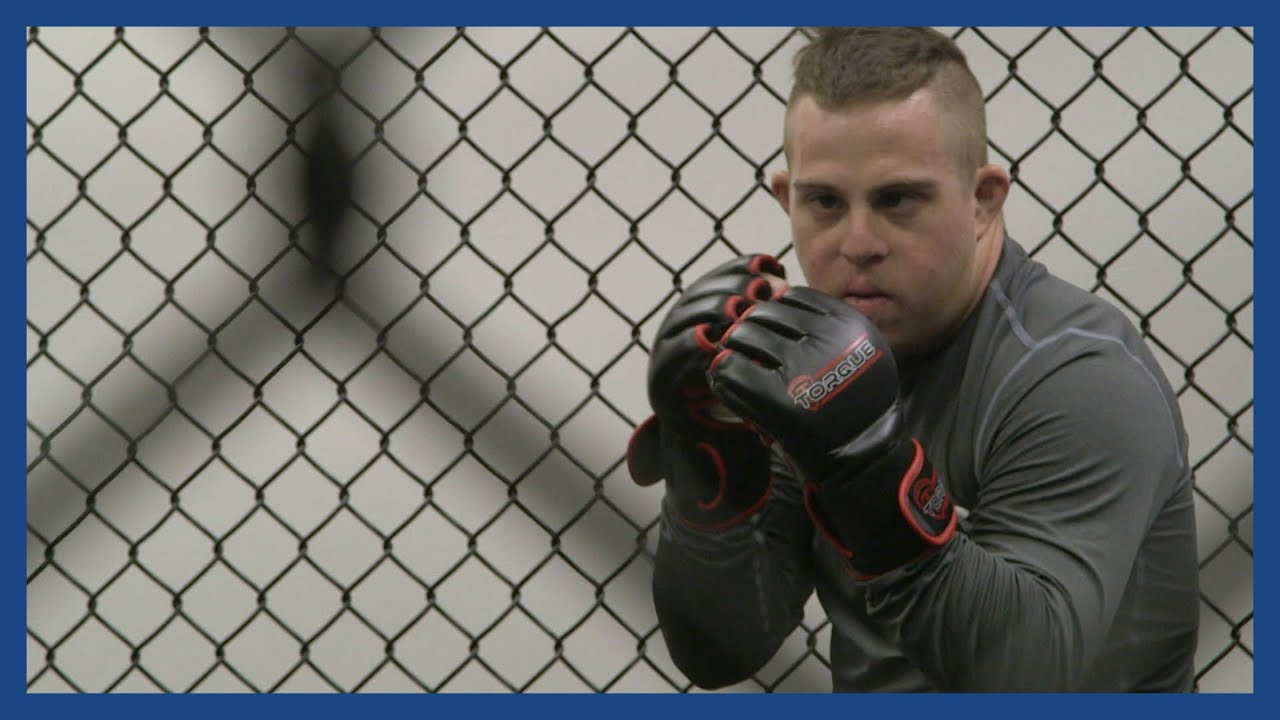 G Money The Mma Fighter With Downs Syndrome Battling For The Right To Fight Guardian Docs