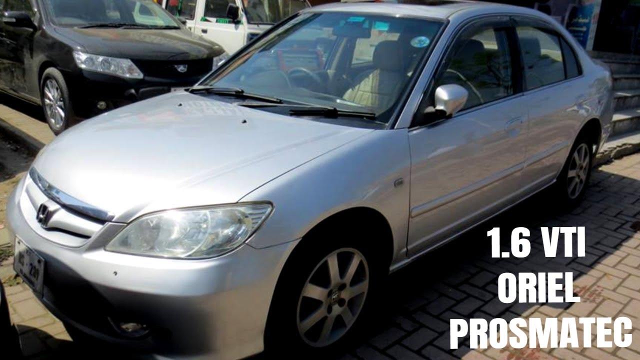 Honda Civic 2005 Vti Oriel Prosmatec Review