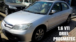 Honda Civic 2005 VTI Oriel Prosmatec Review