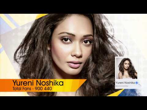 TOP 10 Celebrities in Sri Lanka