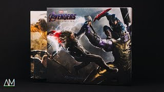 The Art of Avengers Endgame: Unboxing & Look Through