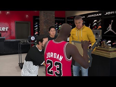 NBA 2K18 Michael Jordan MyCareer (Free Jordan Shoes For Everyone) Round 2 Playoffs Full Game Play