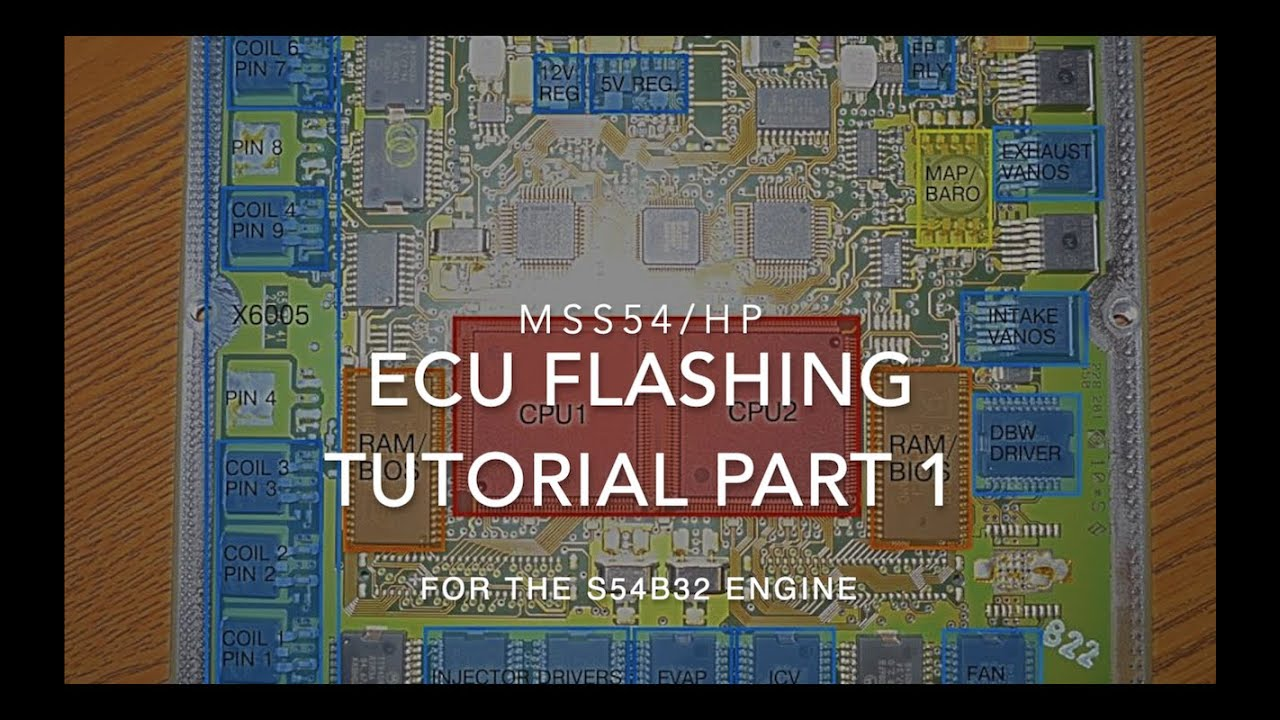 MSS54 ECU Tutorial Part 1: Tools and Reading/Writing to your ECU