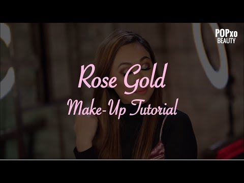 Rose Gold Make-Up Tutorial – POPxo Beauty