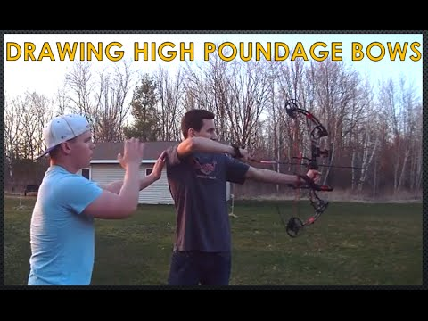HOW TO DRAW HIGH POUNDAGE BOWS