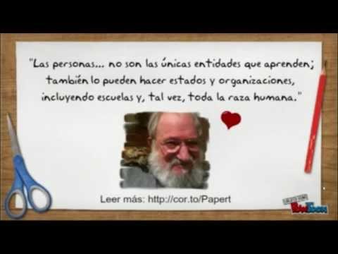 Tres minutos sobre Seymour Papert