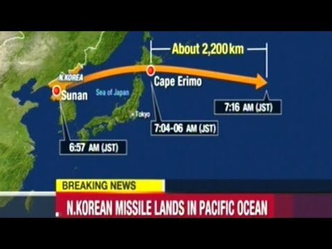 BREAKING! North Korea Fires Another Missile Over Japan!