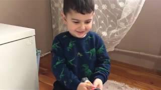Ertuğrul Tren Oynarken Çok Mutlu Oluyor  / Ertuğrul ile Oyun Zamanı
