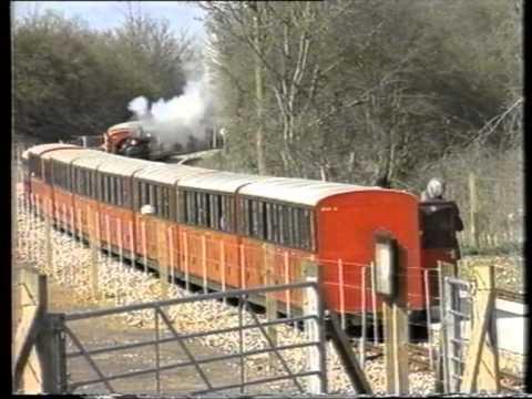 Endings & Beginnings - The Bure Valley Railway in 1991