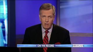 Brit Hume Signs Off of On The Record