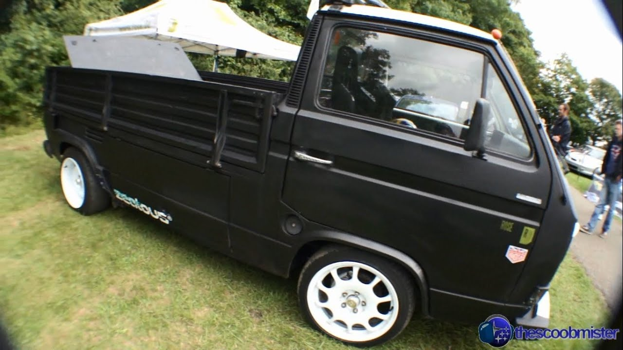 VW T25 Transporter Pickup With A Subaru Engine