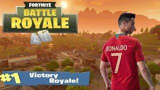 *NEW* Cristiano Ronaldo SKIN ON FORTNITE