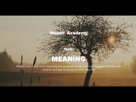 Talk 5 Topic: Meaning - Dr Javid Abdelmoneim, MBBS MRCP (London) DTMH