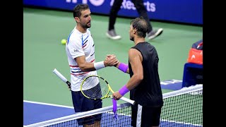 Marin Cilic vs. Rafael Nadal | US Open 2019 R4 Highlights