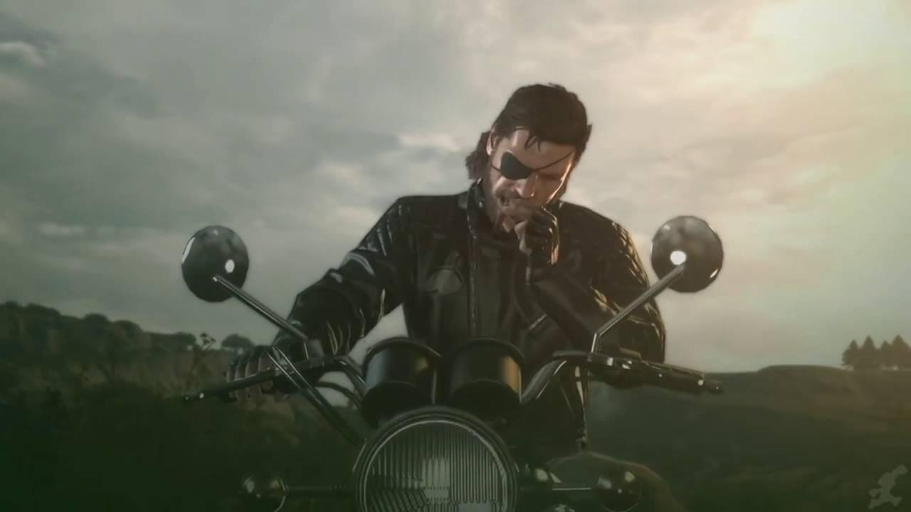 Metal Gear Solid V The Phantom Pain Moto Psycho Gmv