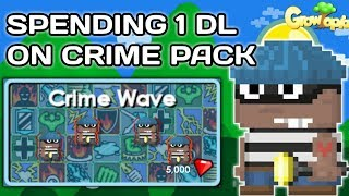 50 WLS PROFITS NO FARMING WITH CRIME PACK [EXPLAINED CRIME PACK PROFITS]- Growtopia