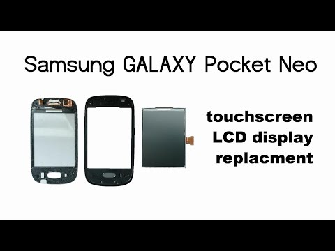 Samsung Galaxy Pocket Neo S5310 - Touch screen, Glass, Digitizer, LCD Display replacement