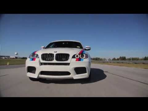 BMW X6M: Ridiculous fast, and... ridiculous.