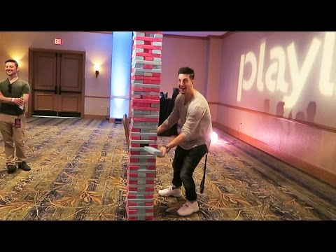 WORLDS BIGGEST JENGA