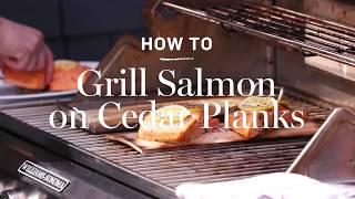 How to Grill Salmon on Cedar Planks | Williams Sonoma