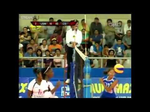 LNSV :: Candida Arias y Yonkaira Peña en la USMP