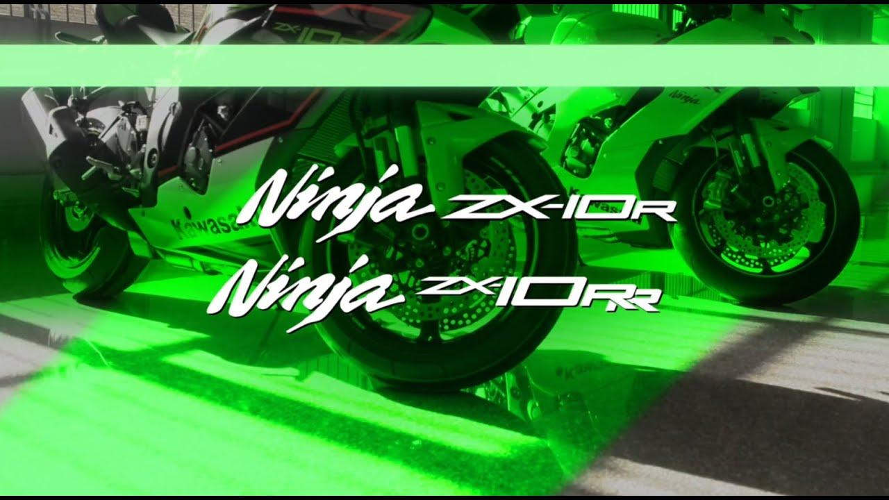 video Kawasaki Ninja ZX-10R