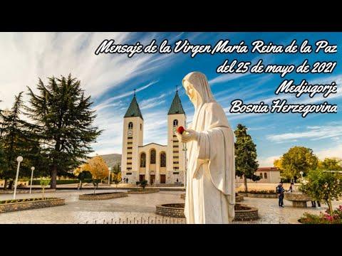 Reflexión Mensaje de la Reina de la Paz del 25 de Mayo de 2021 (P. Gustavo Jamut, OMV)