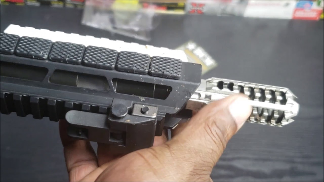 BCM-KAG-1913, UTG ULTRA SLIM ANGLED FOREGRIP AND JE MACHINE TECH GRIP FROM OPTICS PLANET