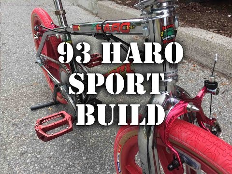 1993 Haro Sport Bash Guard Custom Build @ Harvester Bikes