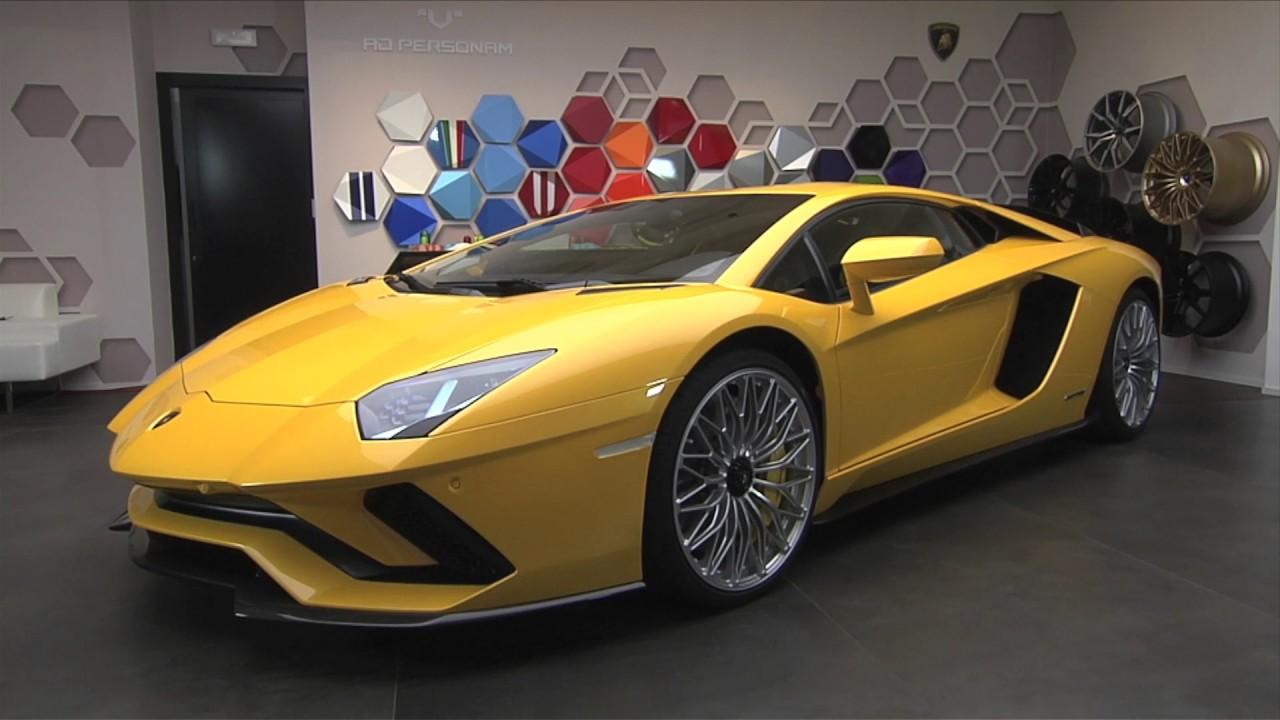 New Lamborghini Aventador S Lp740 4 Interior And Exterior Youtube