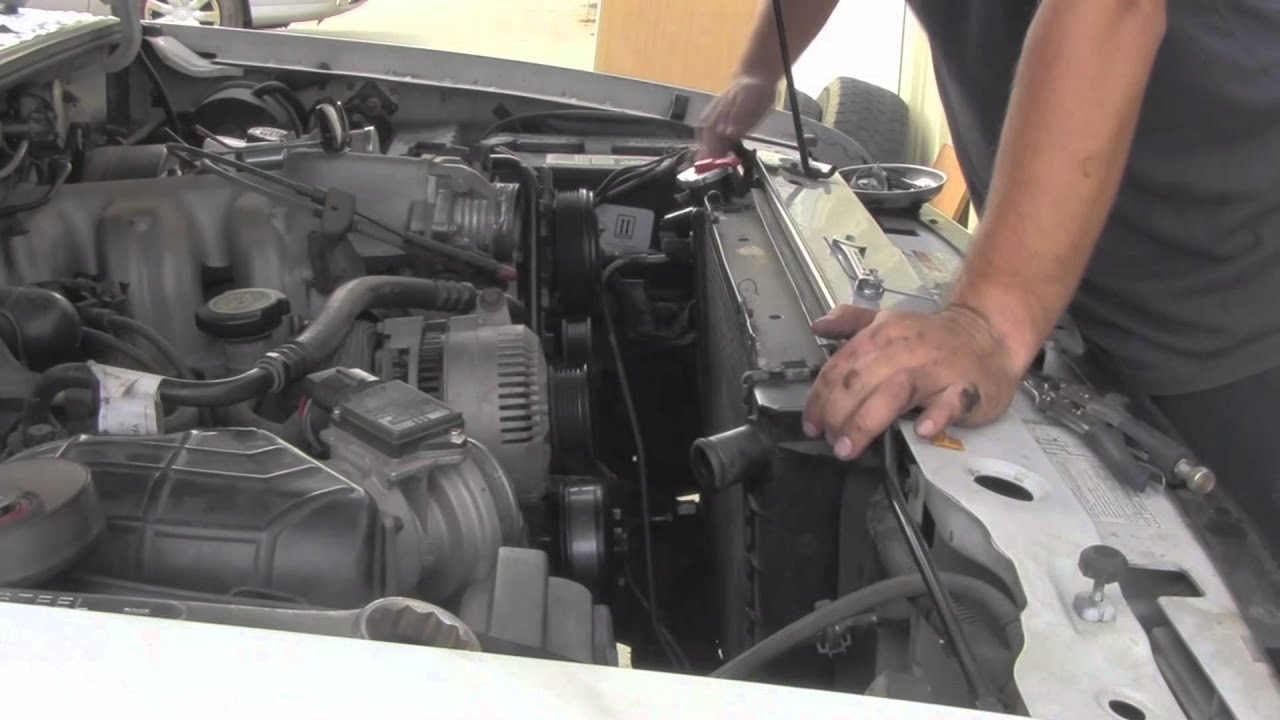 service manual  how to remove radiator on a 2000 1994