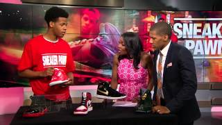 Sneaker Pawn shop owner Chase Reed tells the hottest kicks on the market!