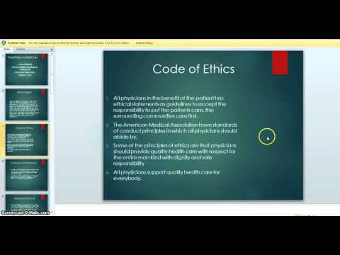 moral rights and health care
