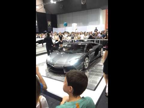 Lamborghini Aventador at Perth Motor Show 2011 - 1