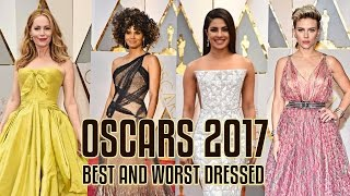 Best and worst dresses of the Oscars 2017