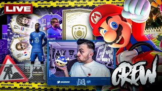 FIFA 21: WHAT IF Packs + ICON PLAYER PICK 🔥 20:30 Uhr Mario Kart mit der CREW ⭐️