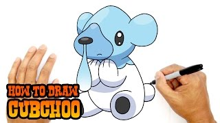 How to Draw Cubchoo | Pokemon