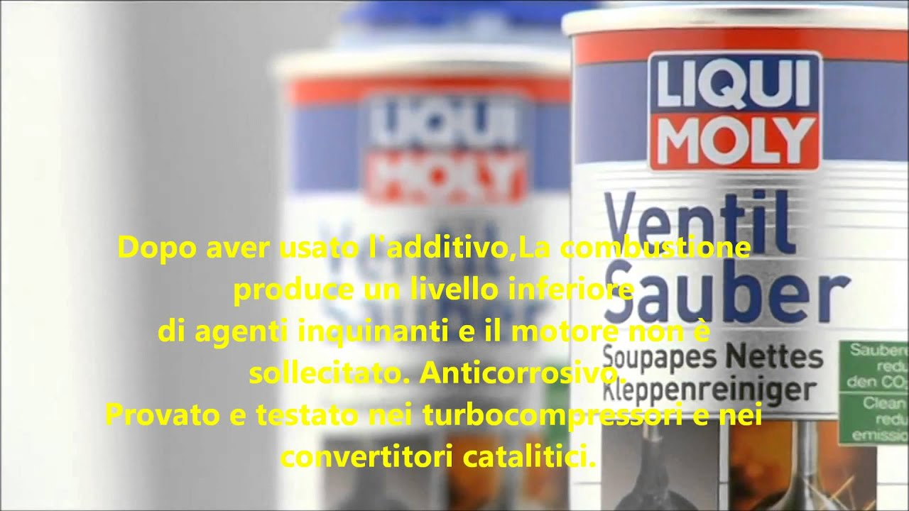 liqui moly additivo benzina pulitore valvole ventil. Black Bedroom Furniture Sets. Home Design Ideas