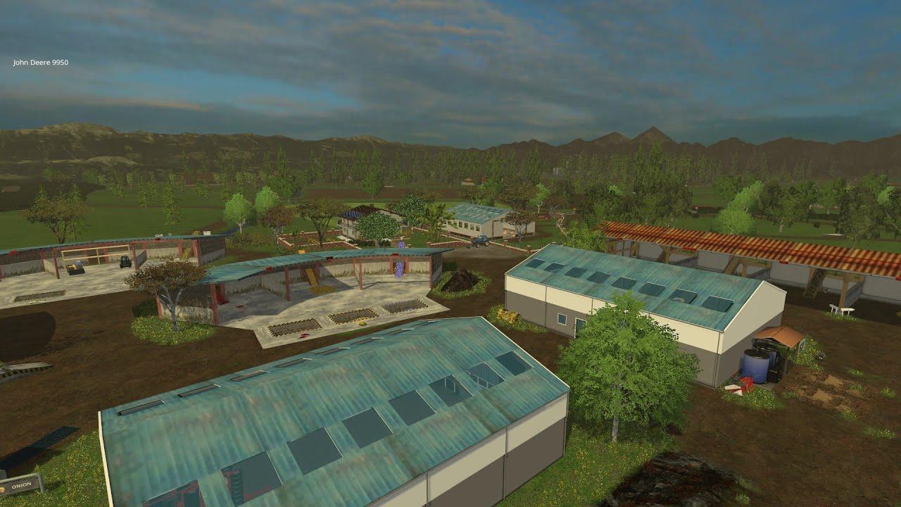 Canadian Map Farming Simulator 2015%0A Farming Simulator      Mod Map Showcase  Elevages et Cultures Map v