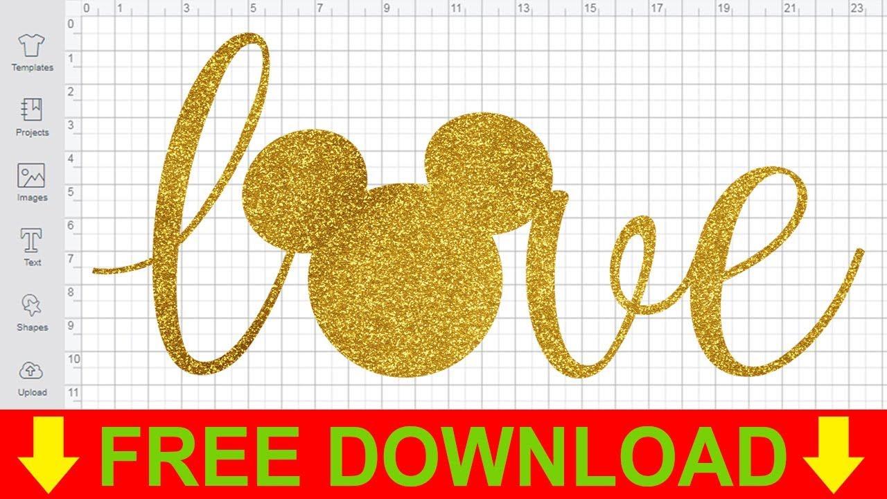 Disney SVG Free Cutting Files for Cricut Love Disney SVG