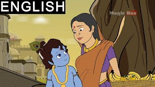 Krishna And Fruit Seller - Sri Krishna In English - Watch this most popular Animated/Cartoon Story