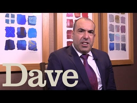 Rick Hoffman Speaks With A British Accent  Suits  Dave