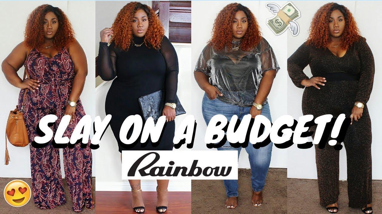 Rainbow plus clothing store