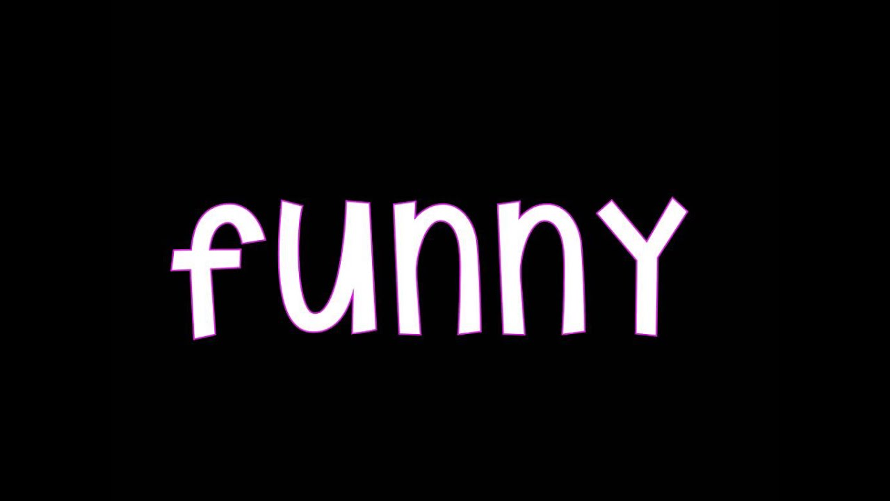 Funny Words: Sight Word 'funny'